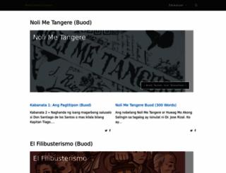 panitikan.com.ph screenshot