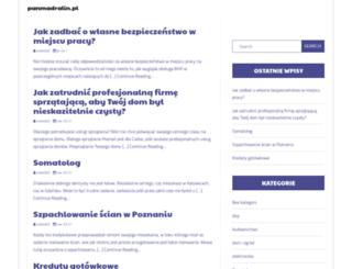 panmadralin.pl screenshot