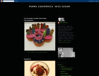 pannacukiernica.blogspot.com screenshot