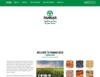 pannar.co.za screenshot