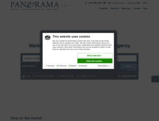 panorama.es screenshot
