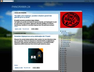 panorama24.blogspot.com.tr screenshot