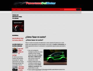 panoramadelmotor.com screenshot