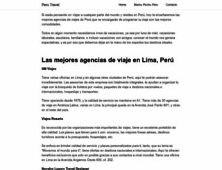 panoramas.pe screenshot