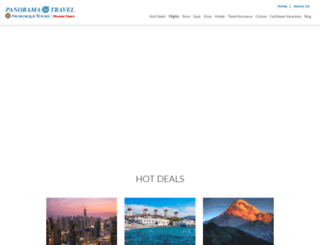 panoramatravel.com screenshot