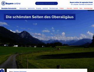 panoramen-oberallgaeu.bayern-online.de screenshot