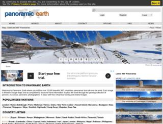 panoramicearth.com screenshot