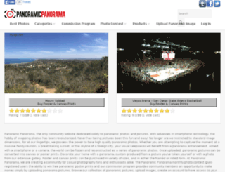 panoramiciphone.com screenshot