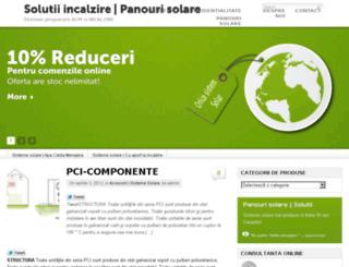 panosolare.ro screenshot
