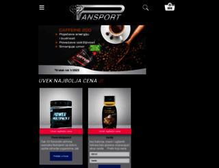 pansport.rs screenshot