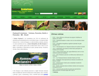 pantanalecoturismo.tur.br screenshot