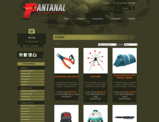 pantanalsports.com.br screenshot