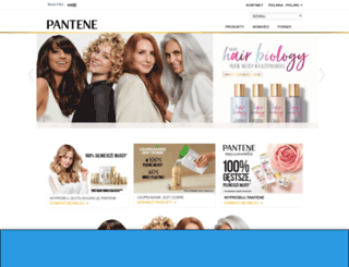 pantene.pl screenshot