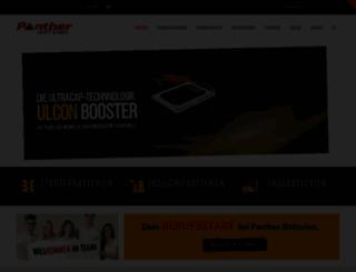 panther-batterien.de screenshot