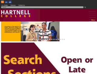 panther.hartnell.edu screenshot