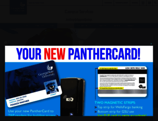 panthercard.gsu.edu screenshot