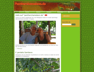 pantherchameleon.de screenshot