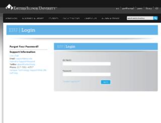 panthermail.eiu.edu screenshot