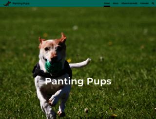 pantingpups.com screenshot