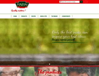 panzani-me.com screenshot