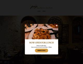 panzarestaurant.com screenshot