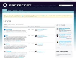 panzernet.com screenshot