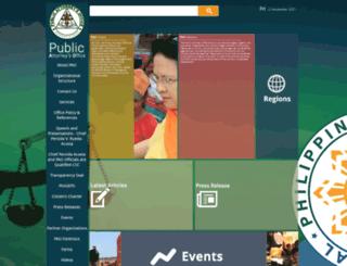 pao.gov.ph screenshot
