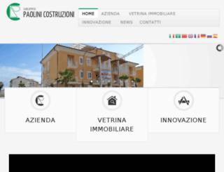 paolinicostruzioni.it screenshot