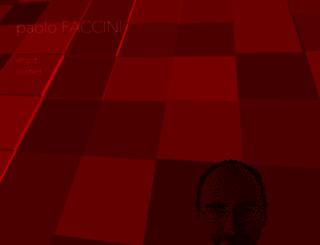 paolofaccini.com screenshot