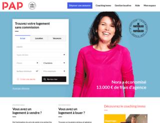 pap.fr screenshot