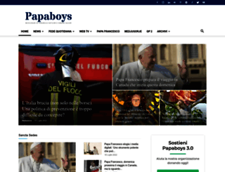 papaboys.org screenshot