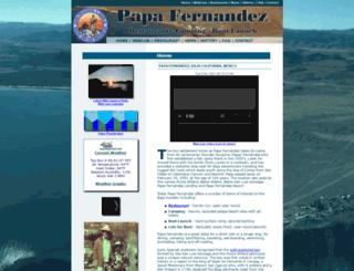 papafernandez.com screenshot