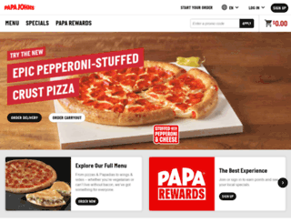 papajohns.com screenshot