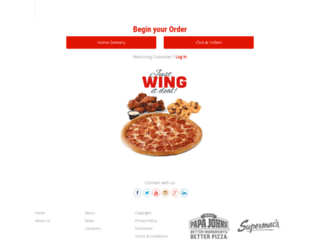 papajohns.ie screenshot