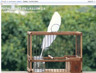 papallonesenlallum.blogspot.com screenshot