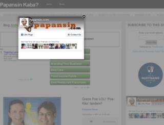 papansin.com screenshot