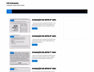 papartesanato.blogspot.com.br screenshot