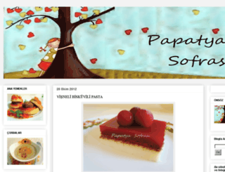 papatya-sofrasi.blogspot.com screenshot