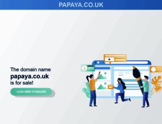 papaya.co.uk screenshot