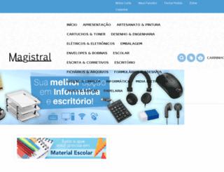 papelariamagistral.com.br screenshot