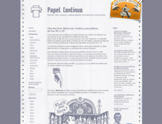 papelcontinuo.net screenshot