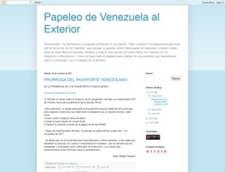 papeleovenezuela.blogspot.com screenshot