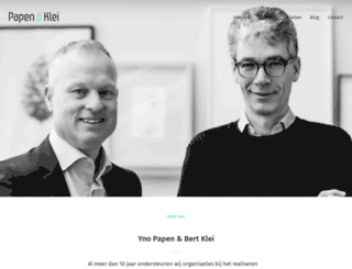 papen-klei.nl screenshot