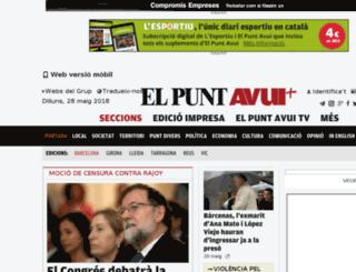 paper.avui.cat screenshot