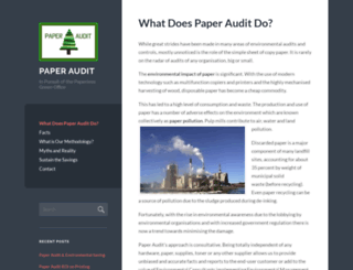 paperaudit.wordpress.com screenshot