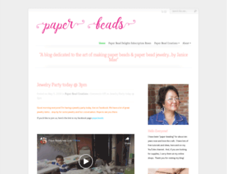 paperbeads.org screenshot