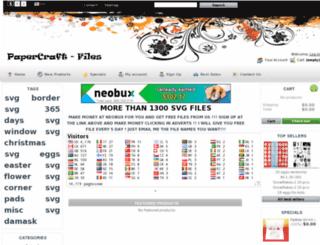 papercraft-files.com screenshot