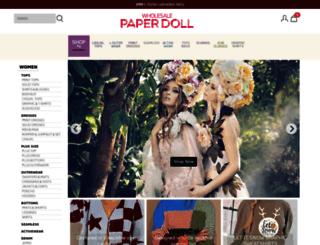 paperdollwholesale.com screenshot