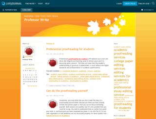 paperediting.livejournal.com screenshot