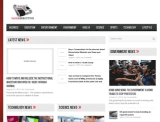 paperexecutive.com screenshot